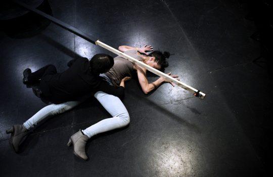 Michelle Moura et Marie Gyselbrecht