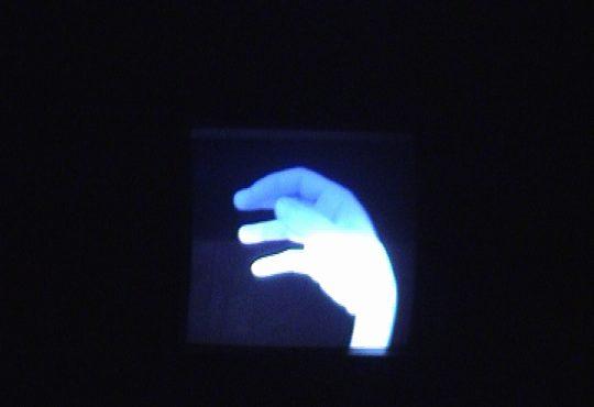Image de l'un des écrans sur scène